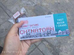 Tiket masuk Chinatown