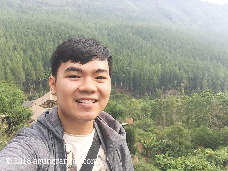 Selfie di The Lodge Maribaya