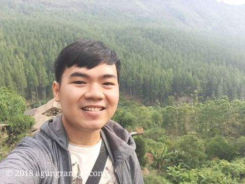 Selfie di The Lodge Maribaya