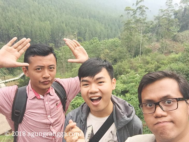 Wefie di The Lodge Maribaya