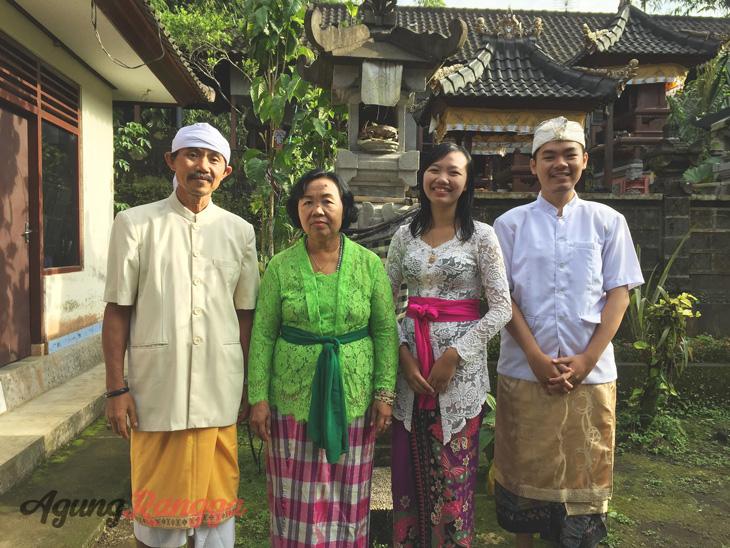 Januari - Saat pulang ke Bali