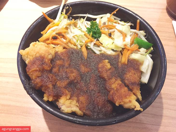 Chicken katsu don buri